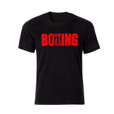 تیشرت مردانه طرح Boxing مدل BR13305