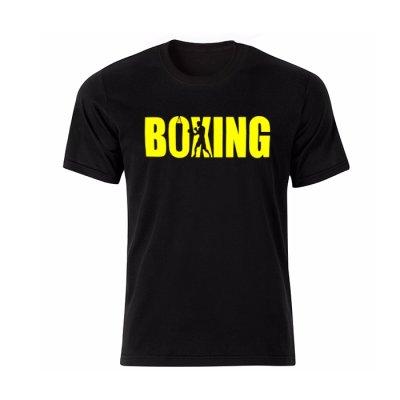 تصویر تیشرت مردانه طرح Boxing مدل BY13306