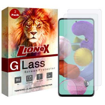 محافظ صفحه نمایش لایونکس مدل UPS مناسب برای گوشی موبایل سامسونگ Galaxy A51 بسته دو عددی