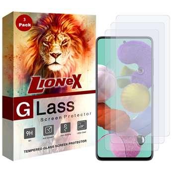 محافظ صفحه نمایش لایونکس مدل UPS مناسب برای گوشی موبایل سامسونگ Galaxy A51 بسته سه عددی