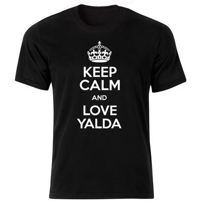 Photo of تی شرت آستین کوتاه مردانه طرح یلدا  کد 1565bw