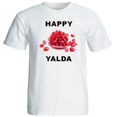 تصویر تی شرت آستین کوتاه مردانه طرح یلدا  کد 1581