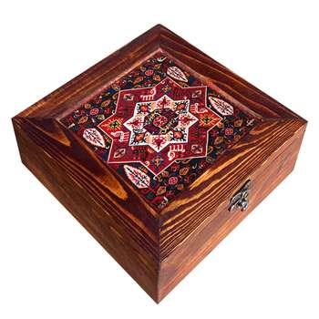 جعبه هدیه چوبی کد CG19