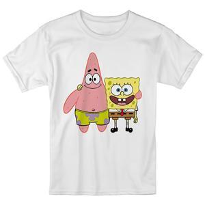 تی شرت بچگانه انارچاپ طرح باب اسفنجی مدل T09024