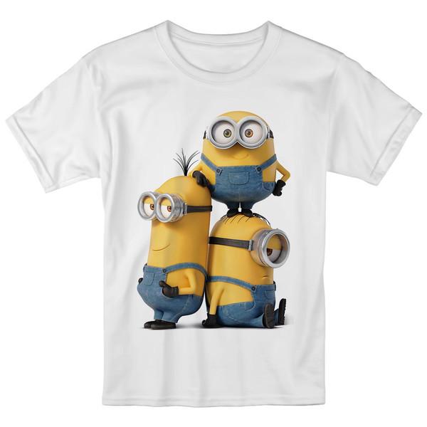 تی شرت بچگانه انارچاپ طرح مینیون ها مدل T09030