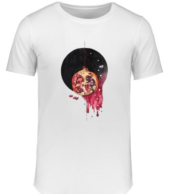 تی شرت زنانه طرح شب یلدا کد 15465