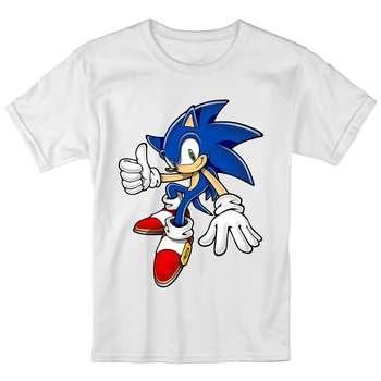 تی شرت بچگانه انارچاپ طرح سونیک مدل T09009