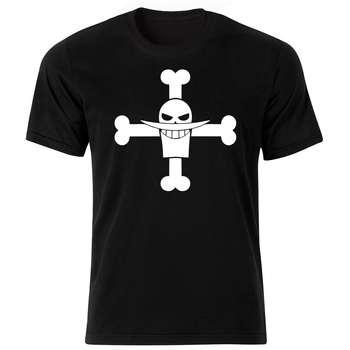 تی شرت آستین کوتاه مردانه طرح اسکلت کد ۱۸۰۰۳ BW