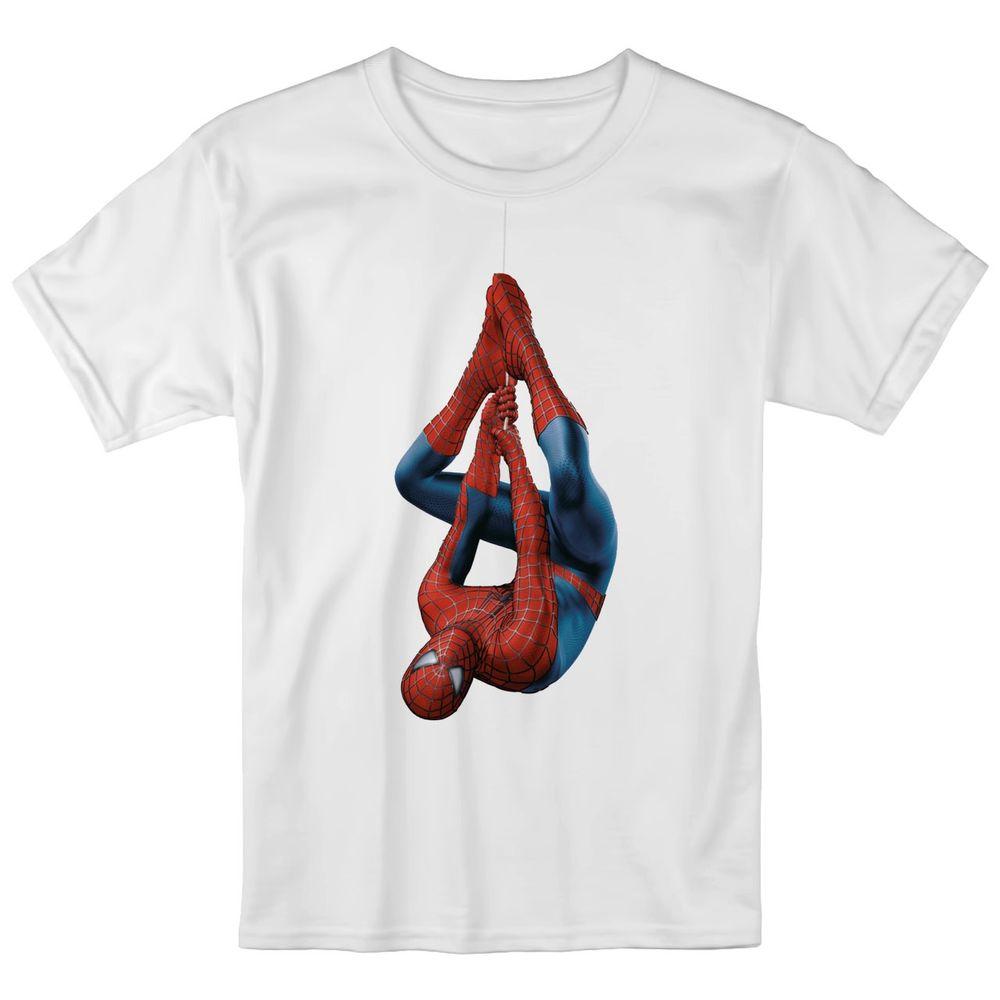 تصویر تی شرت بچگانه انارچاپ طرح اسپایدرمن مدل T09017