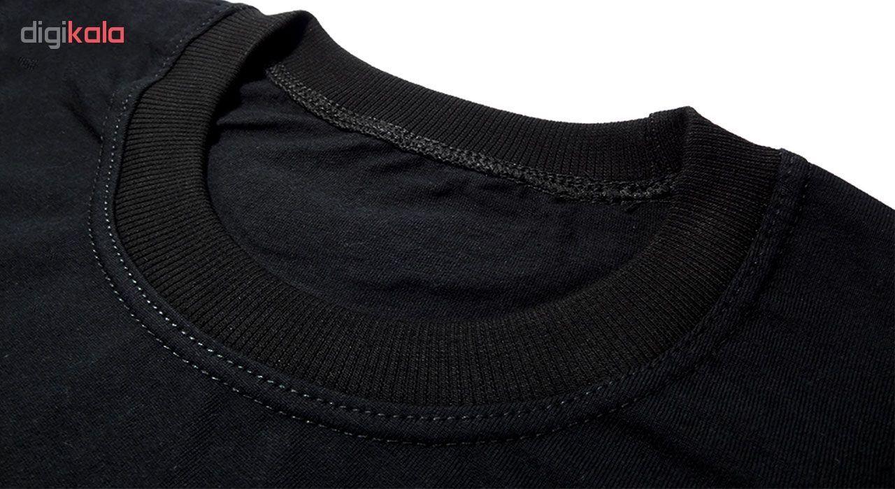 تی شرت آستین کوتاه مردانه طرح اسکلت کد ۱۸۰۱۱ BW main 1 1