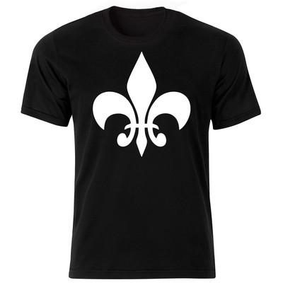 Photo of تی شرت آستین کوتاه مردانه طرح انتزاعی کد ۱۸۰۱۷ BW