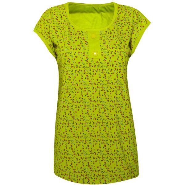 تی شرت زنانه مدل Rosy Yellow