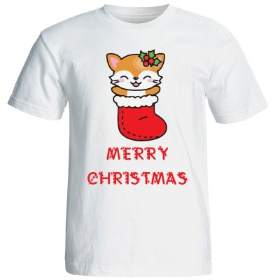 تی شرت زنانه طرح کریسمس 15509