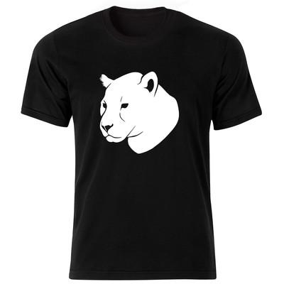 تصویر تی شرت آستین کوتاه مردانه طرح ببر کد ۱۸۰۵۹ BW