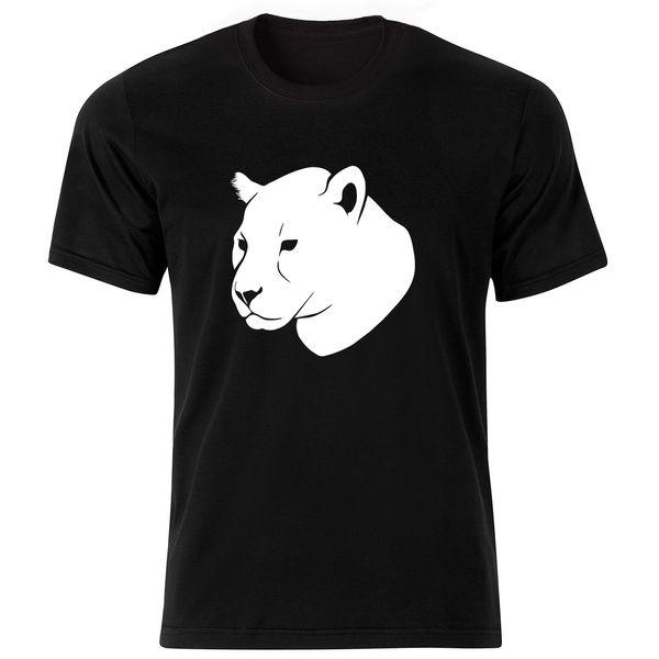 تی شرت آستین کوتاه مردانه طرح ببر کد ۱۸۰۵۹ BW