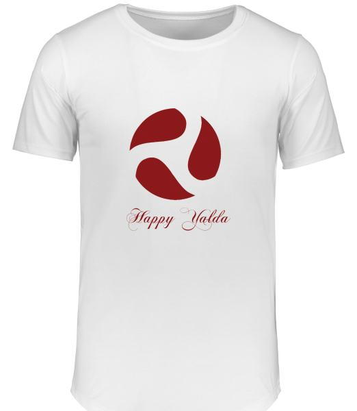 تی شرت زنانه طرح شب یلدا کد 15486