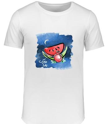 تی شرت زنانه طرح شب یلدا کد 15487