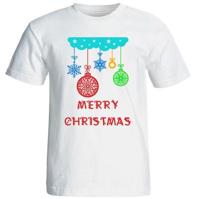 تصویر تی شرت زنانه طرح کریسمس 15510