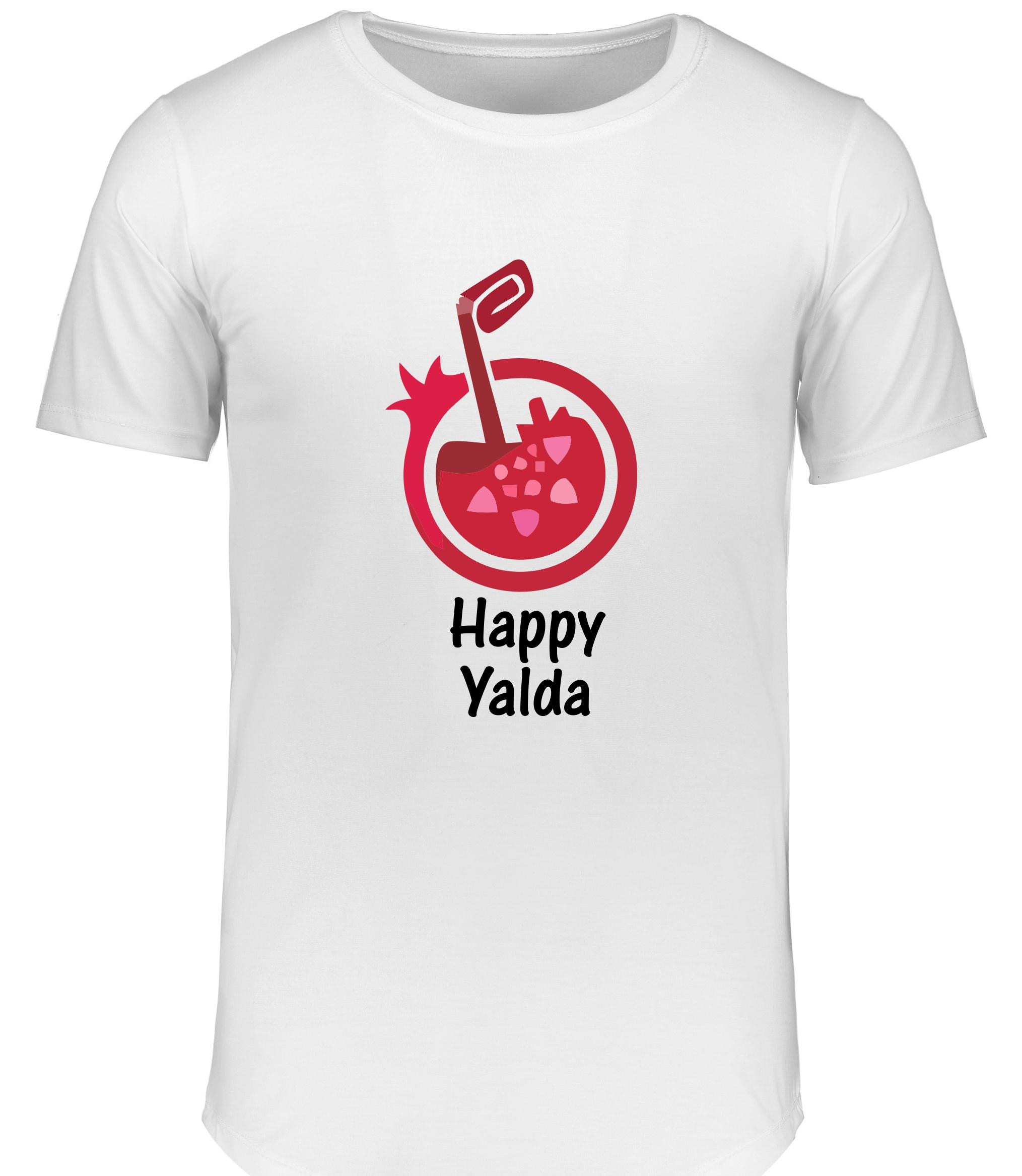 تی شرت زنانه طرح شب یلدا کد 15490