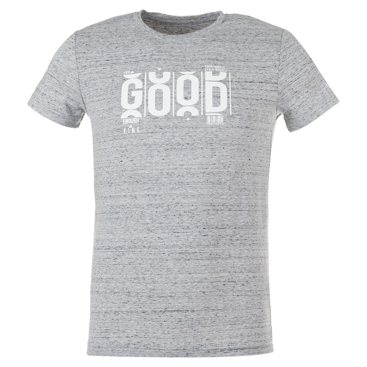 تصویر تی شرت مردانه بیلسی مدل TB18MF07S3841-1-GRILAJS