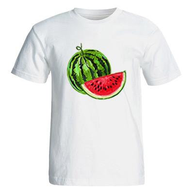 تصویر تی شرت آستین کوتاه زنانه طرح هندوانه یلدا کد 4941