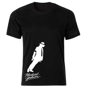 تی شرت مردانه طرح مایکل جکسون کد 150