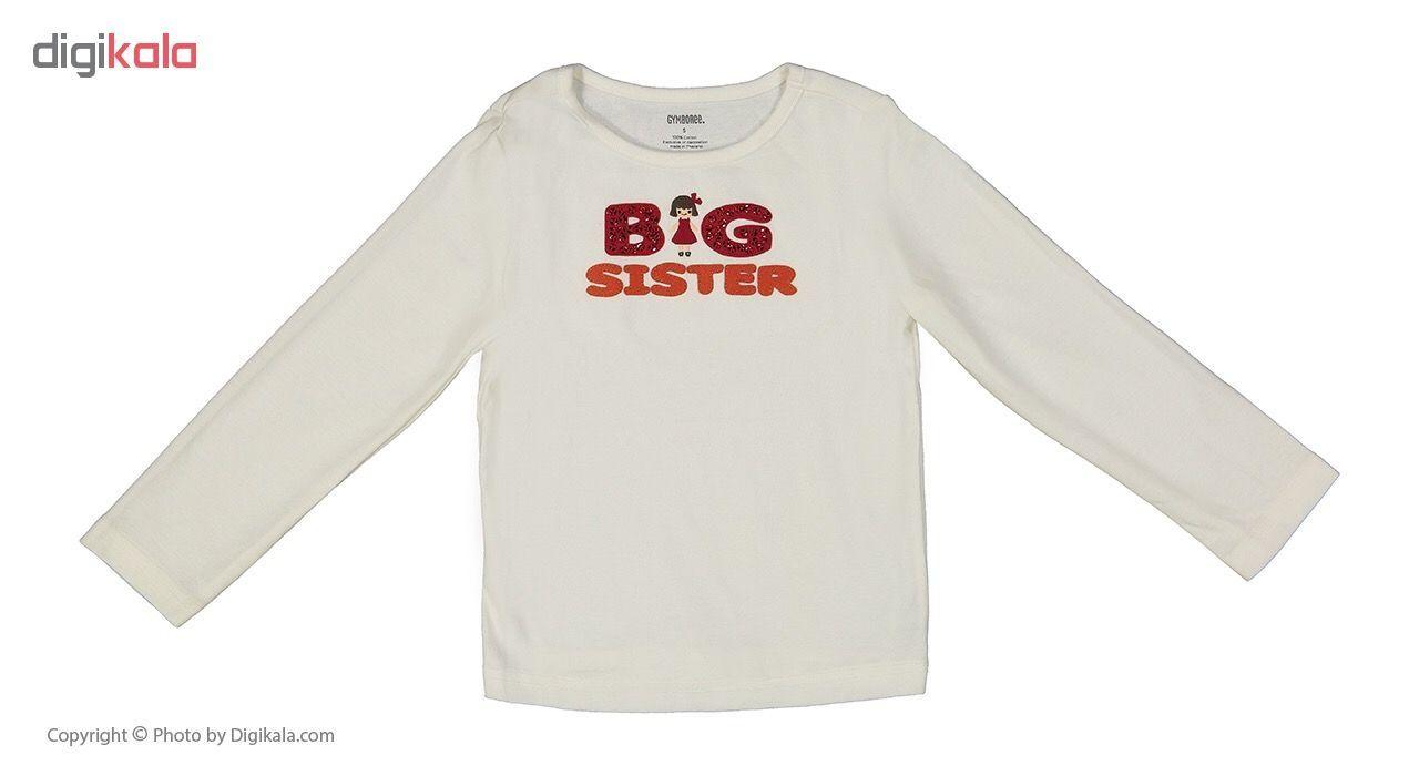 تی شرت دخترانه جیمبوری مدل 965 main 1 1