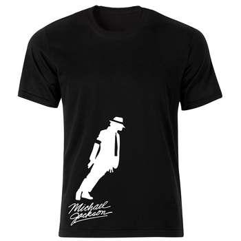تی شرت زنانه طرح مایکل جکسون کد 150