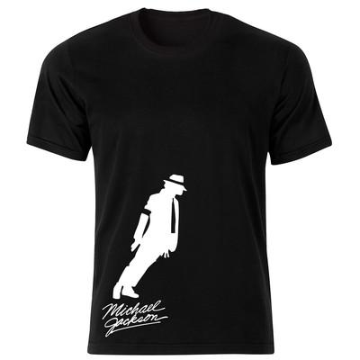 تصویر تی شرت زنانه طرح مایکل جکسون کد 150