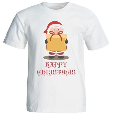 تصویر تی شرت زنانه طرح کریسمس 15513