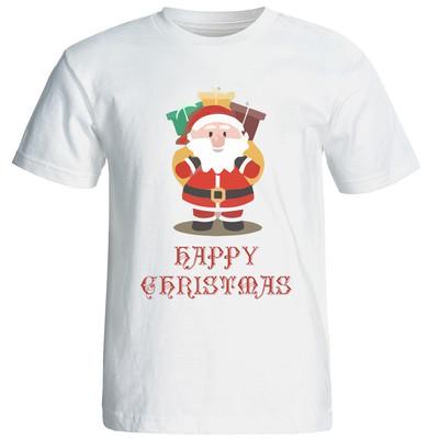 تصویر تی شرت زنانه طرح کریسمس 15514