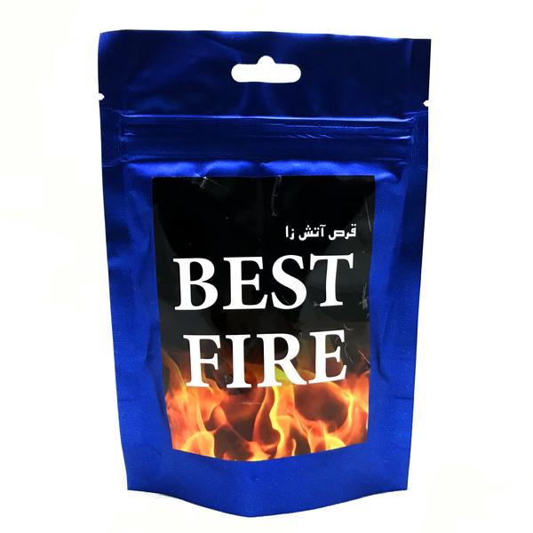 قرص آتش زا مدل BEST FIRE بسته ۳۰ عددی