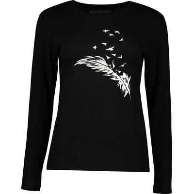 تصویر تی شرت زنانه سمن مدل پر 422-N