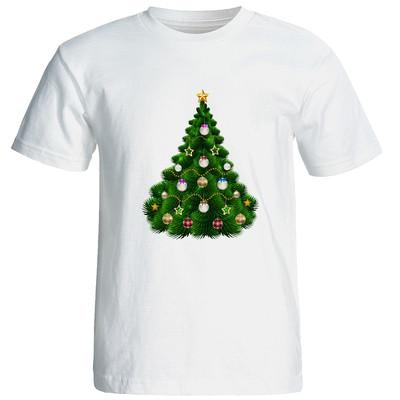 تی شرت آستین کوتاه مردانه طرح کریسمس کد 2111