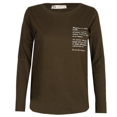 تصویر تی شرت آستین بلند زنانه زانتوس کد 310001117