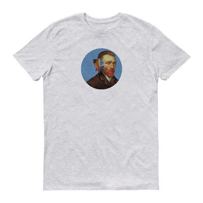 تی شرت زنانه طرح ون گوگ کد 151-1