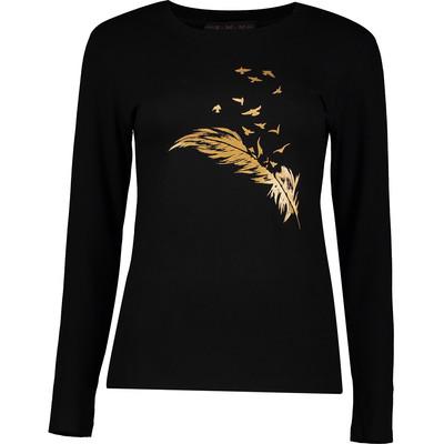 تصویر تی شرت زنانه سمن مدل پر 422-T
