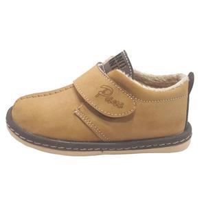 کفش پسرانه مدل پانا رنگ نخودی