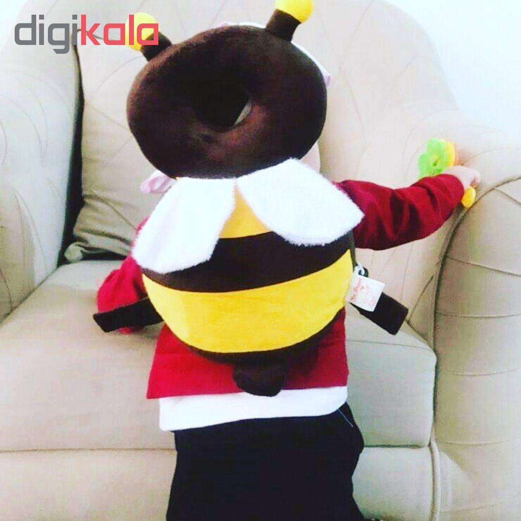 محافظ سر کودک نی نی دوست طرح زنبور عسل main 1 3
