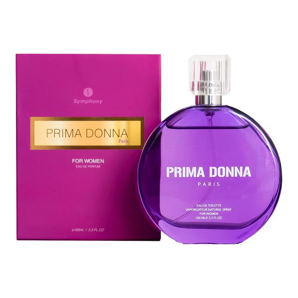 ادو تویلت زنانه سیمفونی مدل Prima Donna حجم 100 میلی لیتر