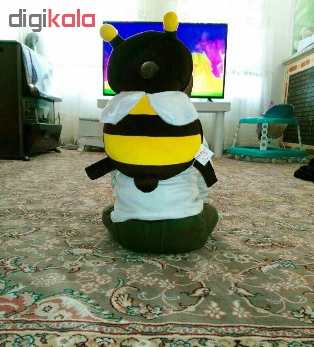 محافظ سر کودک نی نی دوست طرح زنبور عسل main 1 5