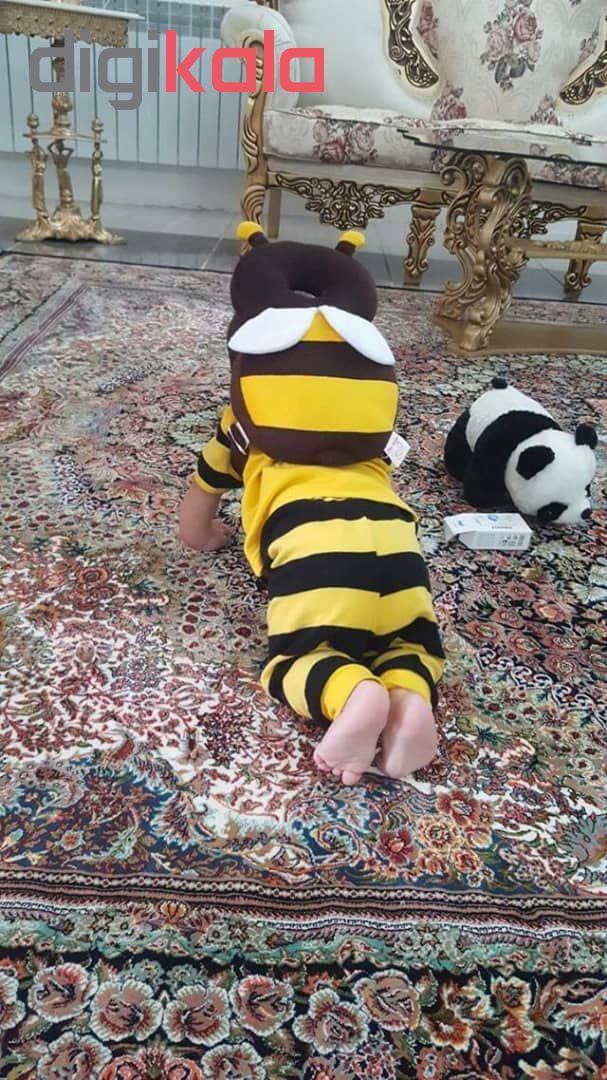محافظ سر کودک نی نی دوست طرح زنبور عسل main 1 7