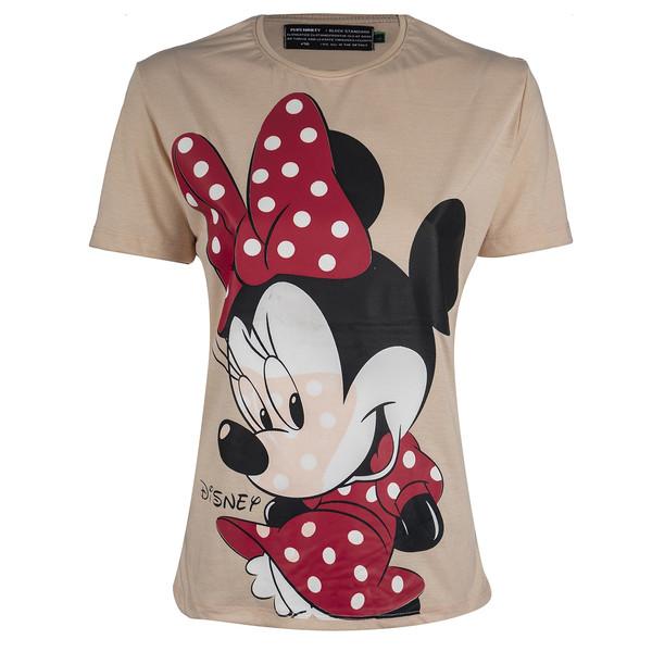 تی شرت زنانه پلاس ناینتی مدل LO01
