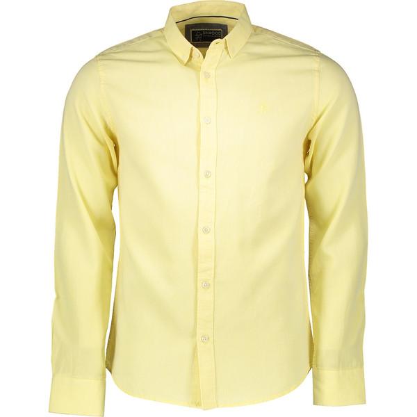 پیراهن مردانه سیاوود مدل SHIRT-32922 Y0043 رنگ زرد