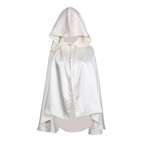 شنل عروس جنس ساتن مدل مروارید کد 1077098