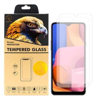 محافظ صفحه نمایش گلدن ایگل مدل GLC-X2 مناسب برای گوشی موبایل سامسونگ Galaxy A20s بسته دو عددی