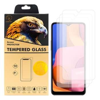محافظ صفحه نمایش گلدن ایگل مدل GLC-X3 مناسب برای گوشی موبایل سامسونگ Galaxy A20s بسته سه عددی