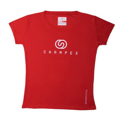 تیشرت ورزشی زنانه چمپکس مدل CHX-TWO Red