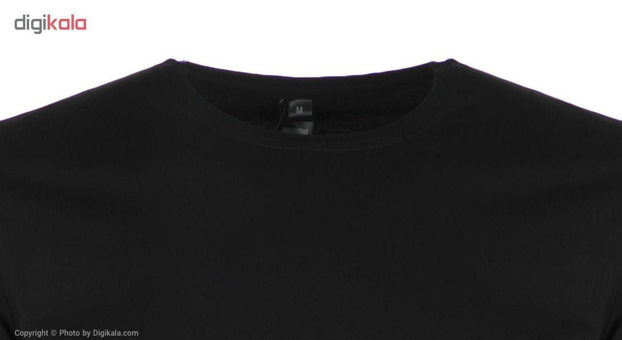 تی شرت مردانه آگرین مدل 1431119-99 -  - 4