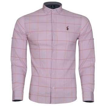 پیراهن مردانه طرح چهارخانه کد 230067227